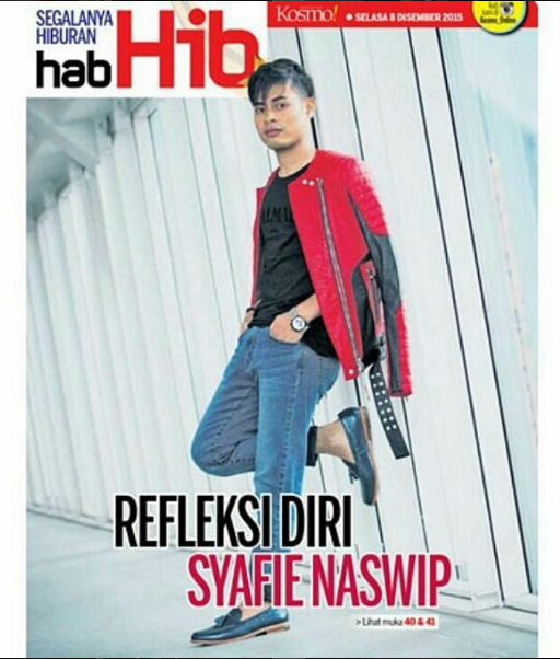 Syafie Naswip in Zeve for Kosmo