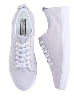 Pure Sneakers - Fog Grey Suede Leather