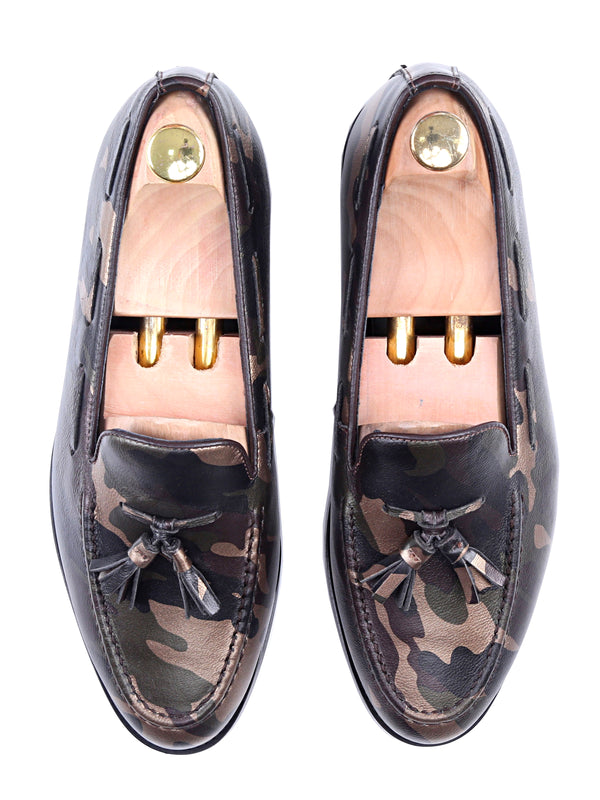 Tassel Loafer - Camou Leather