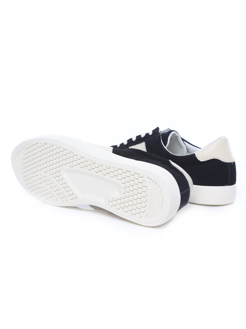 Luca Sneakers - Black Suede Leather