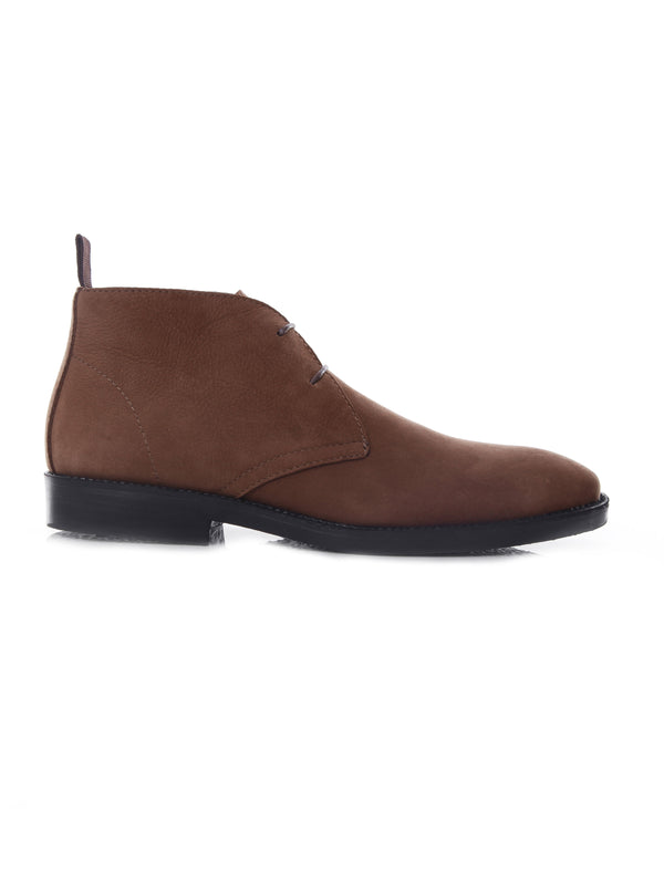 Chukka Boots - Brown Nubuck Leather (Crepe Sole)
