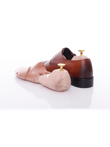 Wooden Shoe Tree with ZEVE Gold Plated