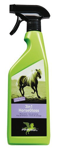 Parisol Horse Gloss 3in1 - Mane and Tail Detangler and Gloss