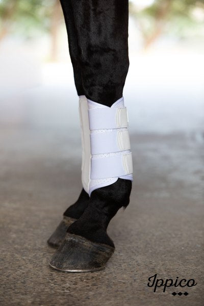 Aero | Cool Flow Neoprene Brushing Boots | White