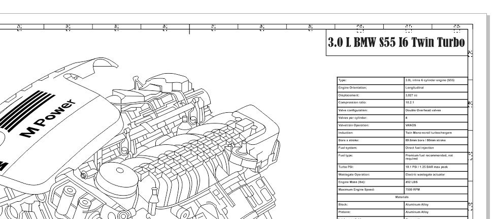 Bmw 3 0 Engine Diagram