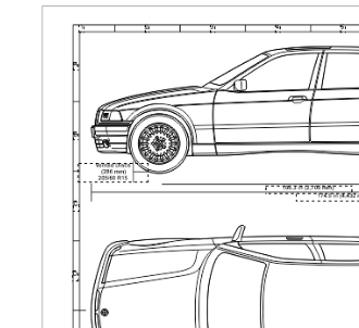 BMW E36 328i Info and Specs | Engraved Wall Art