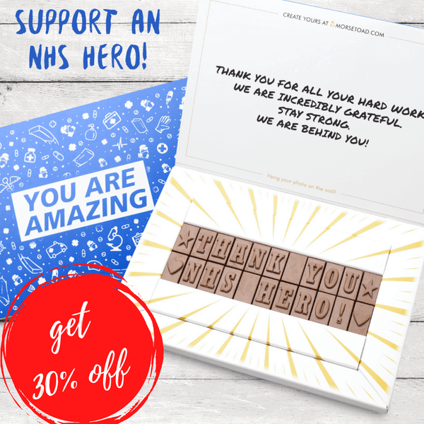 Support NHS Gift - 30% OFF
