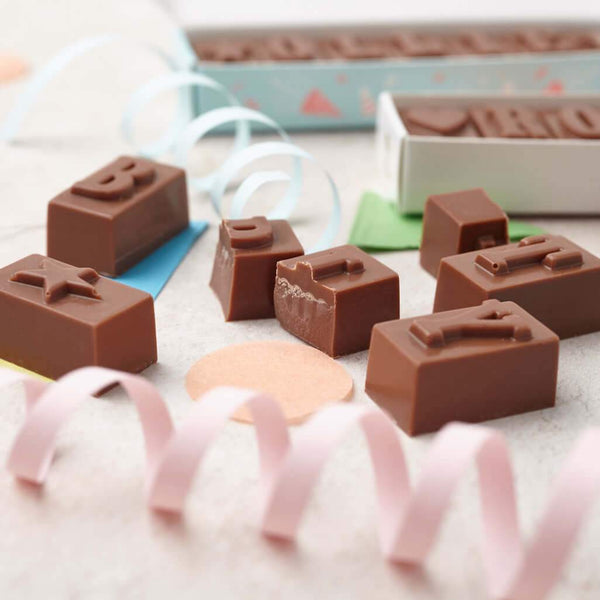 chocolate party favours