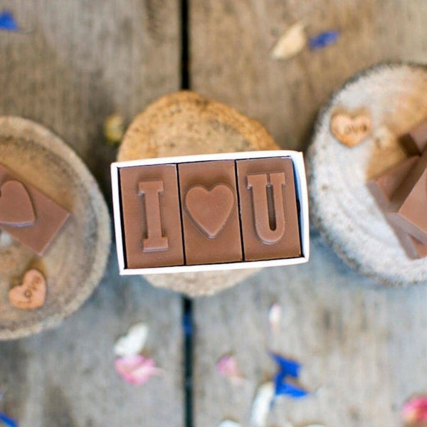 Mini Chocolate I Love You - Personalised Gifts - Morse Toad