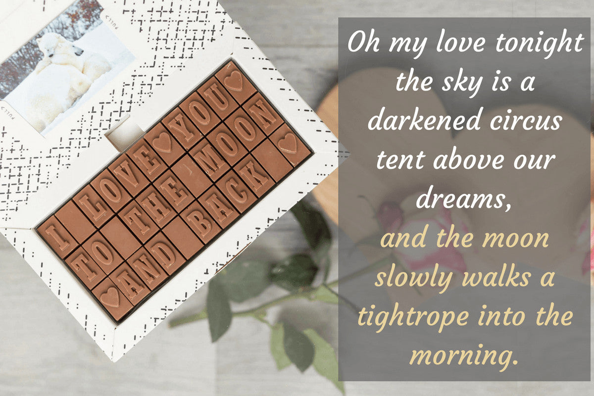 Personalise Your Chocolate Message