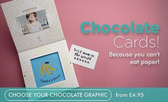 personalised chocolate gift