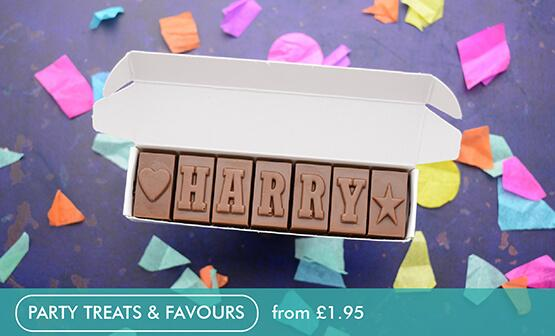 Personalised Chocolate Gifts Delivered Through The Letterbox