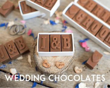 wedding chocolates