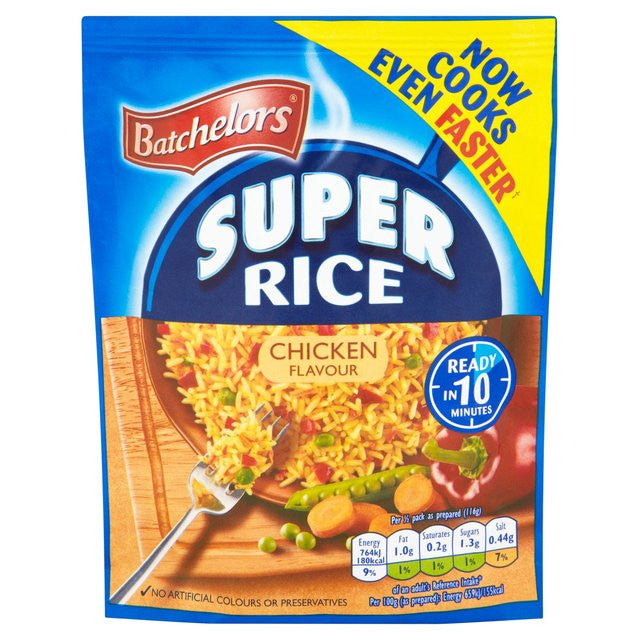 Batchelors Super Rice Chicken Flavour 100g