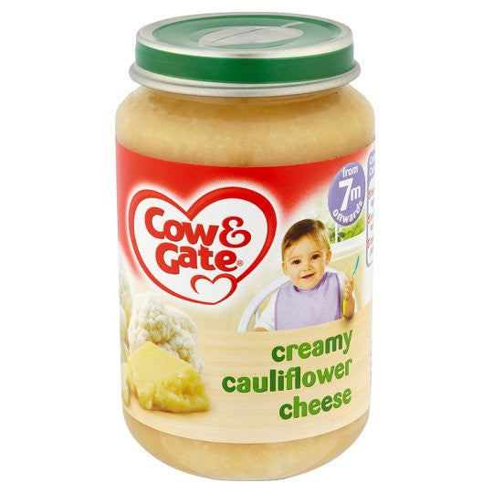 Cow & Gate Baby Balance Cauliflower Cheese 125g (case of 6)