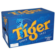 Tiger Lager Beer 330ml