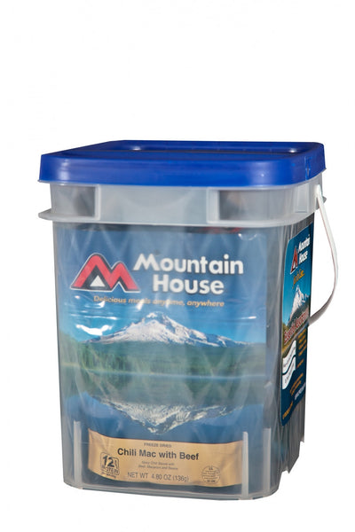"Mountain House ""Just in Case...""® Essential Assortment Bucket"
