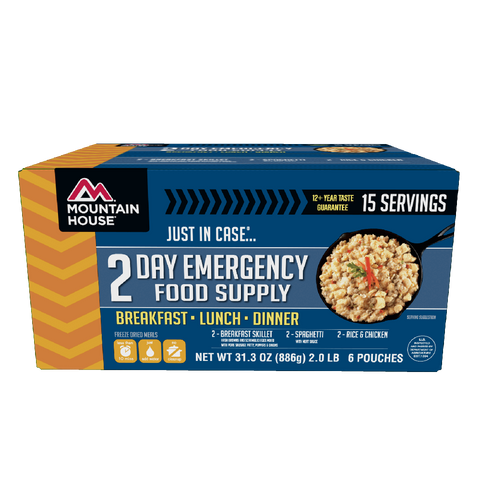 Just In Case...® 2 Day Emergency Food Supply