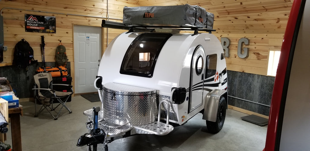 ... T@G Teardrop Trailer with Roof Top Tent - Custom Build ... & T@G Teardrop Trailer with Roof Top Tent - Custom Build u2013 Front ...