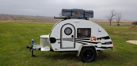 T@G Teardrop Trailer with Roof Top Tent - Custom Build