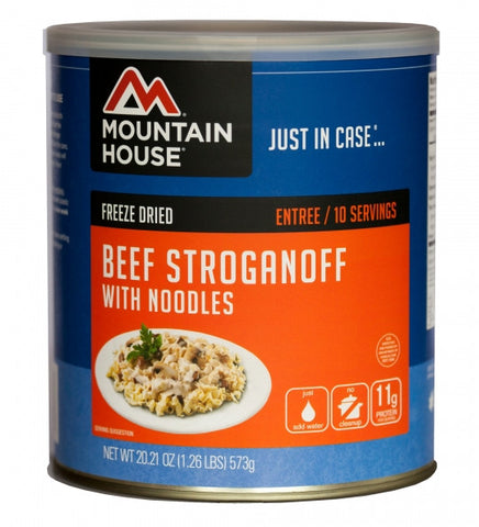 Beef Stroganoff - #10 Can