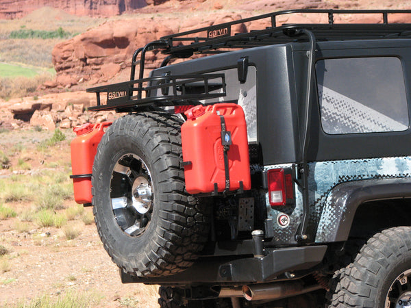 G2 Series Rear Bumper Tire Carrier, JK (swing away system)