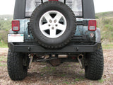 G2 Series Rear Bumper, No Swing-Away, JK Wrangler