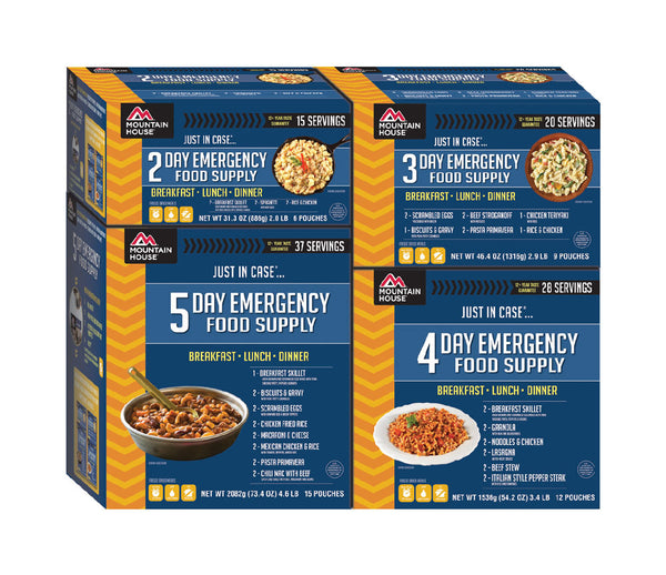 Just In Case...® 14 Day Emergency Food Supply