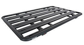 Roof racks available are Front Runner, Rhino Rack and Garvin Wilderness