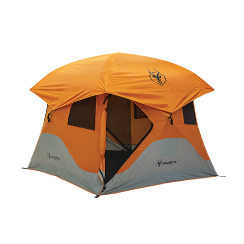 4 PERSON GAZELLE T4 HUB TENT ORANGE