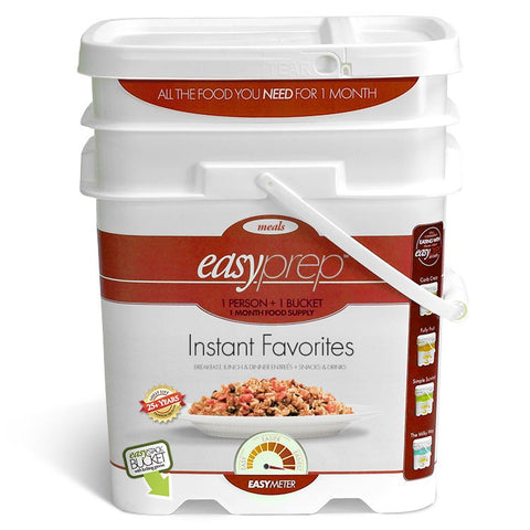 EasyPrep Instant Favorites - 1 Month food supply