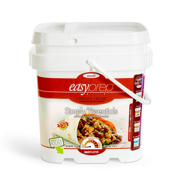 EasyPrep Simply Essentials-1 month food and drink supply