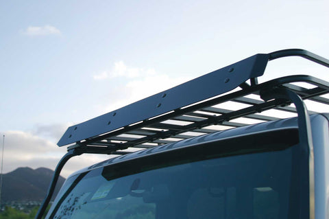 "Wind Deflector, roof rack, 54""W Jeep Expedition Rack"