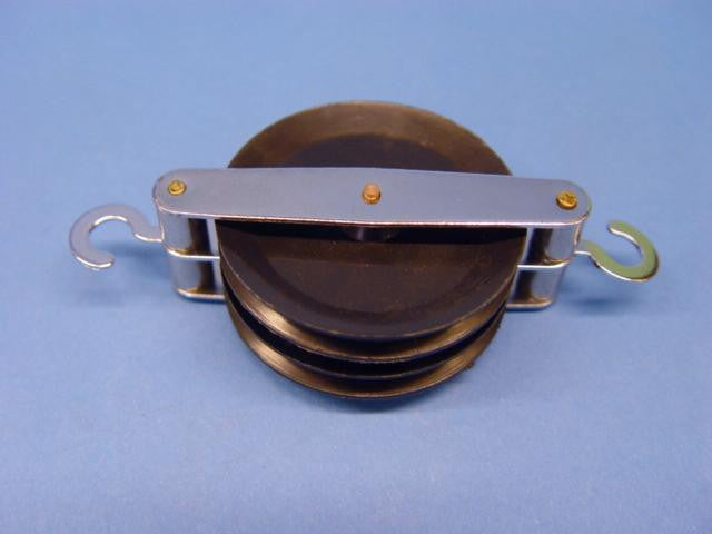 PULLEY DOUBLE PLASTIC