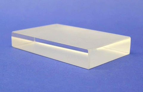 BLOCK GLASS 114 x 73 x 19mm