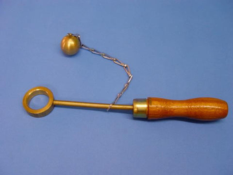 BALL & RING WOOD HANDLE