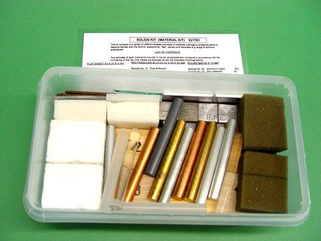 SOLIDS KIT (MATERIALS KIT)