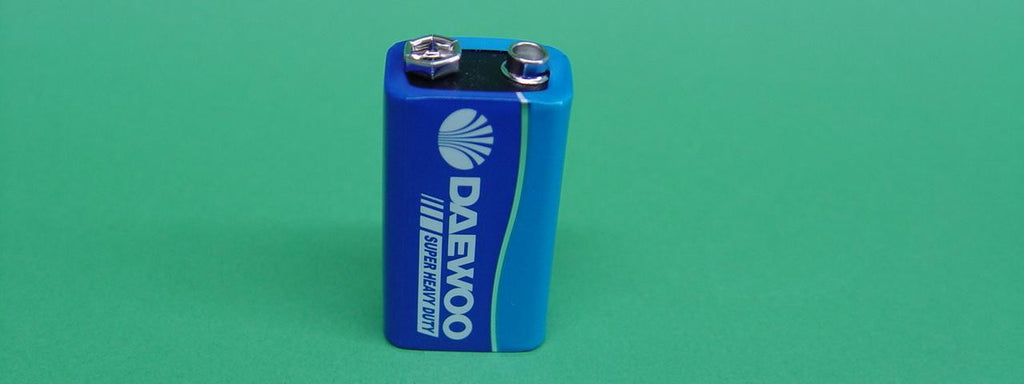 BATTERY 9V SMALL RECTANGULAR