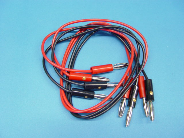 LEADS SET OF 4 BAN/BAN BLK/RED