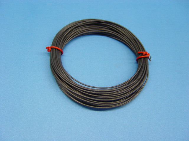 WIRE STRANDED 10m 2A BLACK