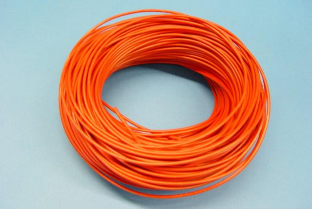 WIRE STRANDED 100m 10A RED