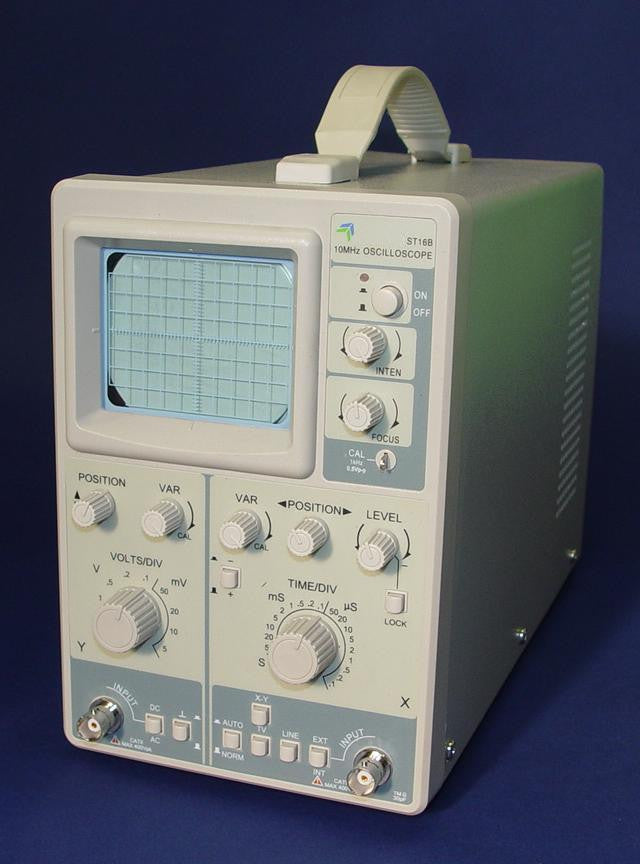 OSCILLOSCOPE  SINGLE TRACE
