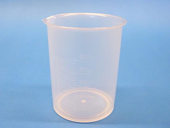 BEAKER PLASTIC  250ml