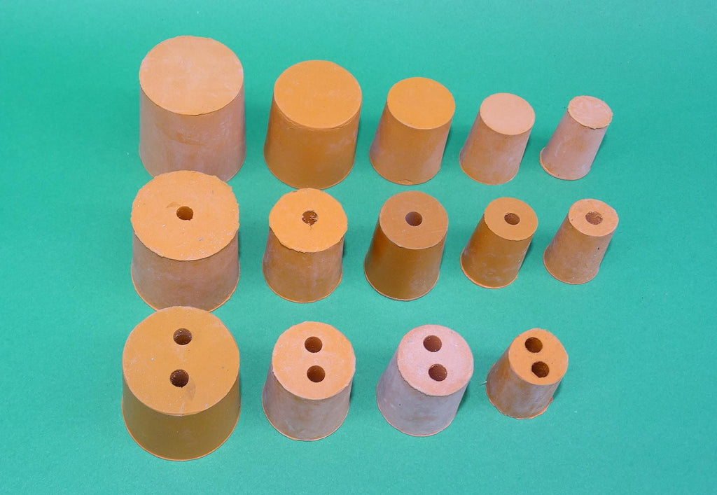 RUBBER STOPPERS SET OF 14