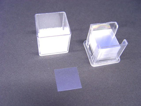 MICROSCOPE COVER SLIPS 18x18mm