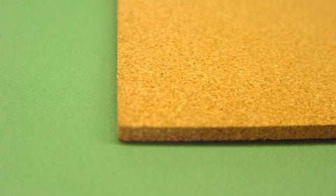 CORK SHEETS 300 x 150 x 6mm