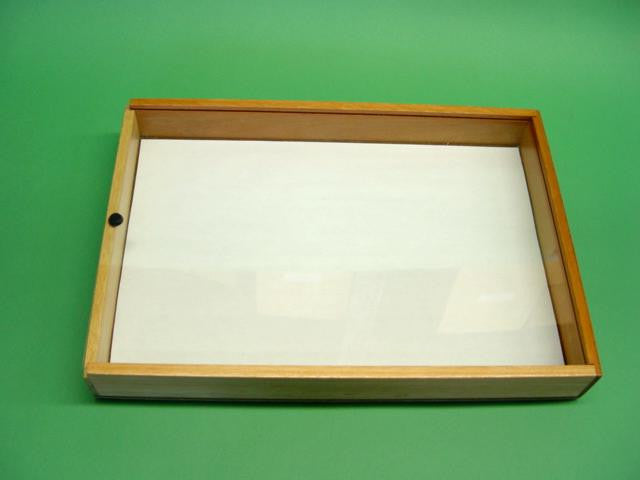 INSECT DISPLAY CASE WOOD