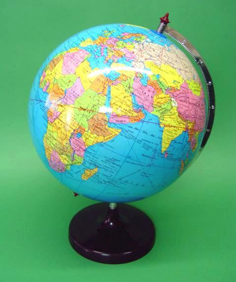GLOBE WORLD   POLITICAL  300mm