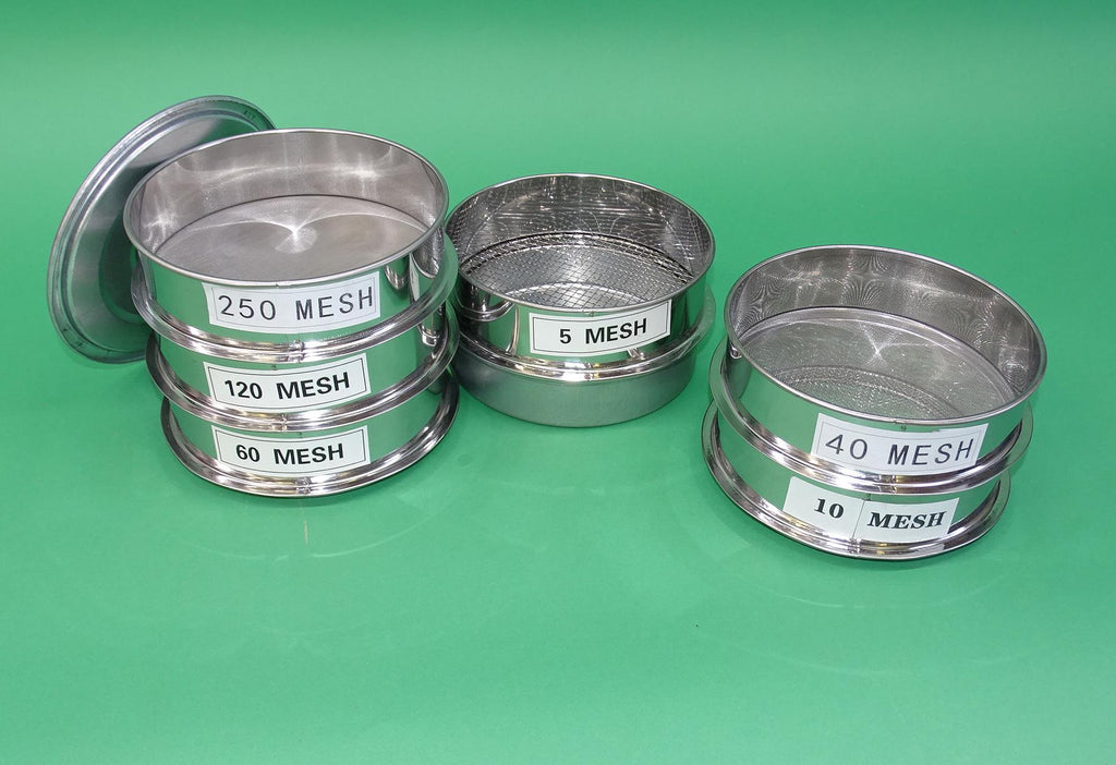 SIEVES SET OF 6  SOIL