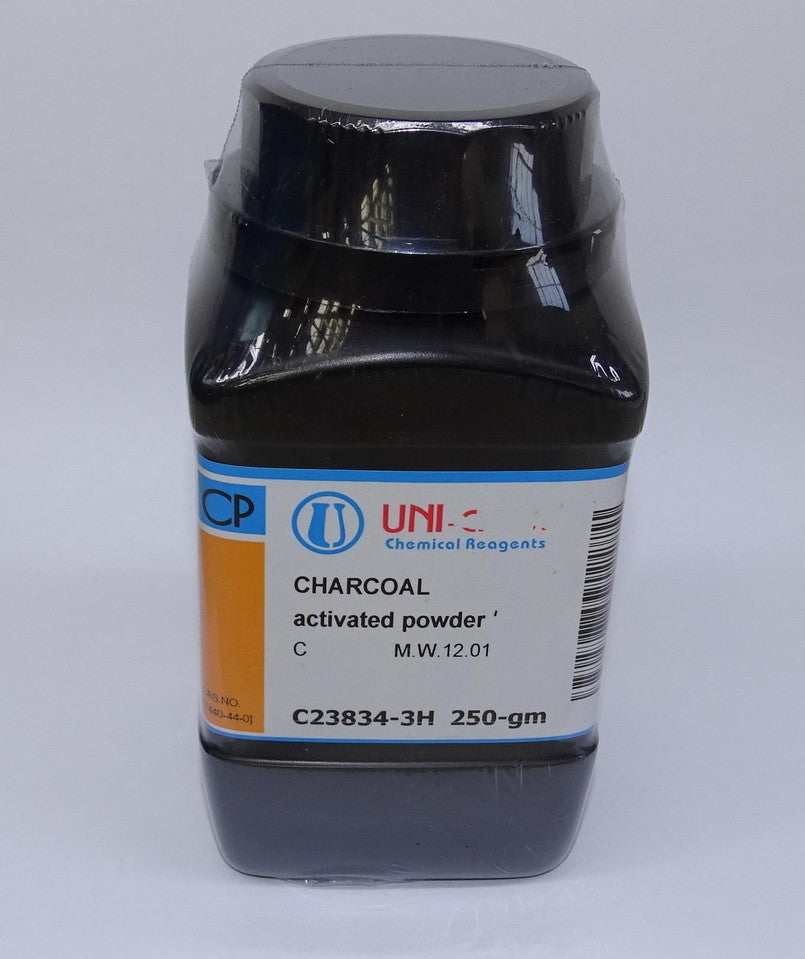CHARCOAL ACTIVATED POWD 250g